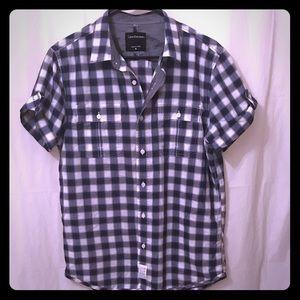 Calvin Klein Button Down Mens Shirt Size Medium